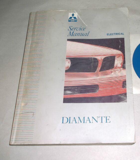 1992 1993 1994 Mitsubishi Diamante Electrical Wiring Diagrams Service Manual