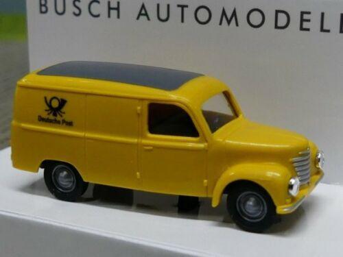 1//120 pista busch dd framo v901//2 carro de castas deutsche post 8676
