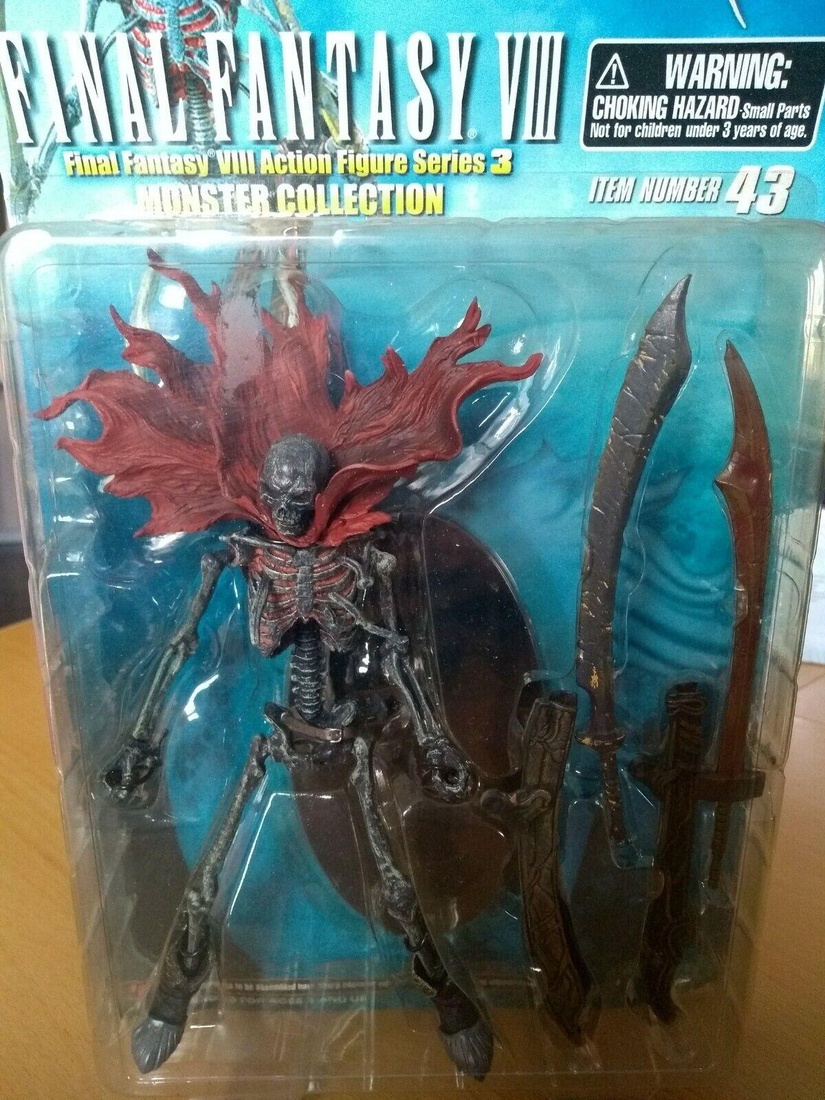 Kotobukiya Final Fantasy VIII monstruo Collection skeleton Action Figure
