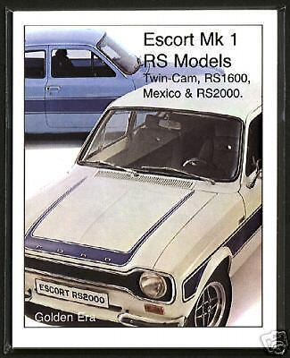 FORD ESCORT MK1 Fine Art Print  RS2000 Mexico RS1600 1300GT Sport 1300E Twin-Cam