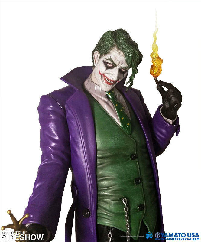 FANTASY FIGURE GALLERY DC Comics The Joker 1 6 Resin Statue Luis Royo Yamato FFG