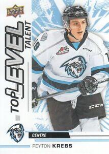 2018-19-Upper-Deck-CHL-Hockey-Top-Level-Talent-TL-2-Peyton-Krebs
