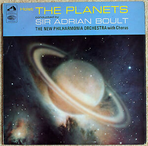 ASD 2301 Holst The Planets Sir Adrian Boult New Philharmonia Orchestra HMV - <span itemprop='availableAtOrFrom'>Barrow-upon-Humber, United Kingdom</span> - ASD 2301 Holst The Planets Sir Adrian Boult New Philharmonia Orchestra HMV - Barrow-upon-Humber, United Kingdom