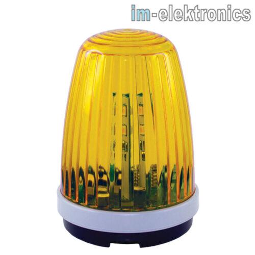 LED Warnleuchte Warn Blinkleuchte Blinklampe 12V 24V 230V f Garagen Tor Antrieb