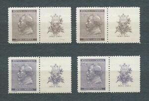 3rd-REICH-BOHEME-et-MORAVIE-1941-YT-63-a-64-TIMBRES-NEUFS-MNH