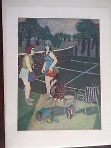 Carole-Sue-Lebbin-Etching-034-SOCIAL-TENNIS-034-Signed-Numbered-5-25