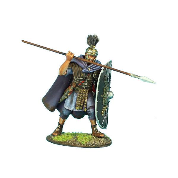 ROM02 kejserlig Roman Praetorian Guard med spjut av First Legion