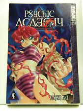 Psychic Academy 4 Manga Book Katsu Aki Toykopop 2004 Paperback 1591826241 Good