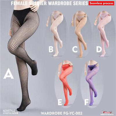 1//6 Female Jumpsuit Mesh Stockings Fire Girl Toys Model No Body
