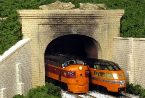 Monroe Models NIB 111 Tunnel Portal CUT STONE HO Double Portal