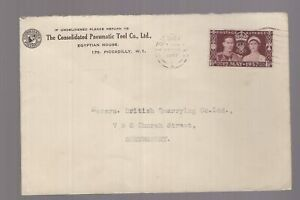 Great-Britain-13-May-1937-Consolidated-Pneumatic-Tool-Co-Coronation-cover