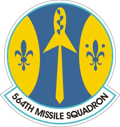 US Air Force USAF 564th Missile Squadron Decal Sticker