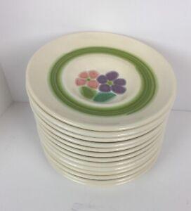 "Franciscan Ware ""Floral"" pattern, Saucers 1970's Vintage 13 Each"