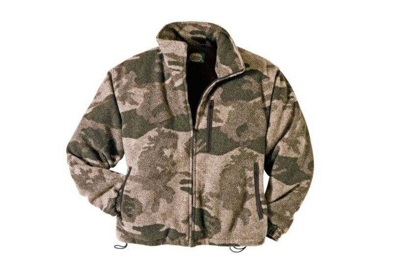 Cabela's hombres Outfitter Camo wooltimate cortante del viento Impermeable's Chaqueta de caza