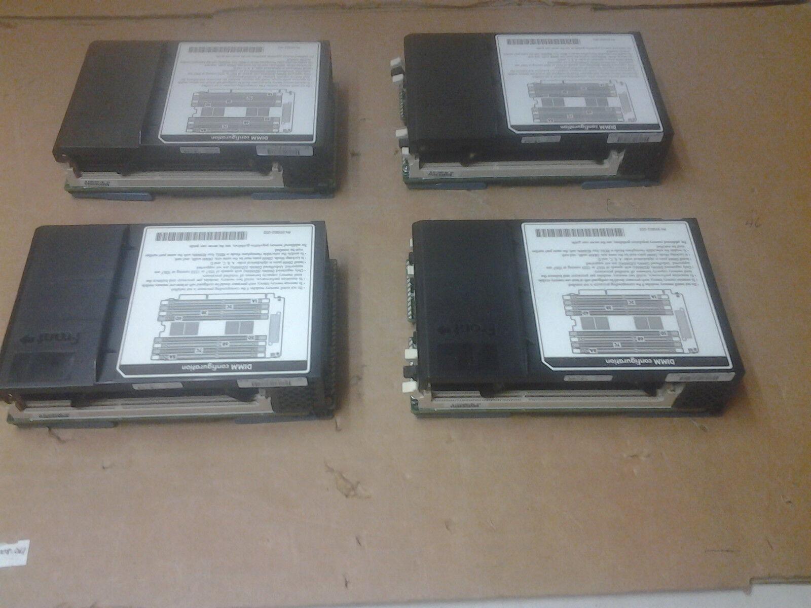 ****Lot of 4*** HP 647058-001 8 SLOT MEMORY RISER CARD FOR DL580 G7 650761-001