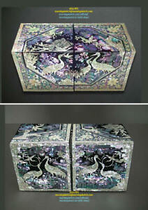 HAPPY FAMILY AND LONGEVITY + TRADITIONAL JEWELRY ART BOX _ LARGE SIZE