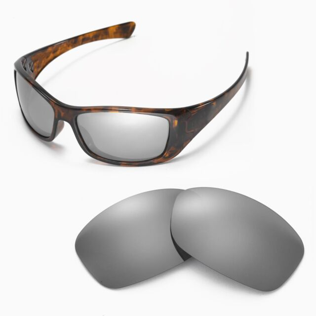b4ab97652a New Walleva Polarized Titanium Replacement Lenses For Oakley Hijinx  Sunglasses