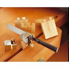 Veritas Dovetail Saw Guide System 717028 1:8 Angle Guide With Saw