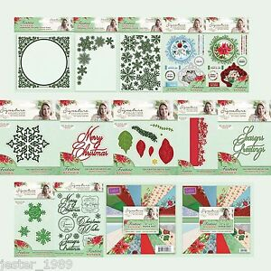 SARA SIGNATURE COLLECTION  Cardmaking YOU PICK Sew Lovely Crafters Companion