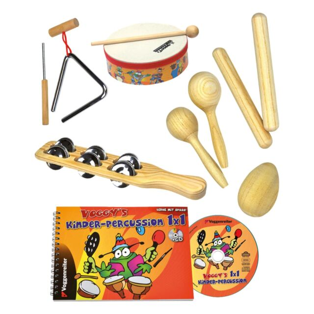 inkl Tasche Stagg CPJ-05 Junior Percussion Set