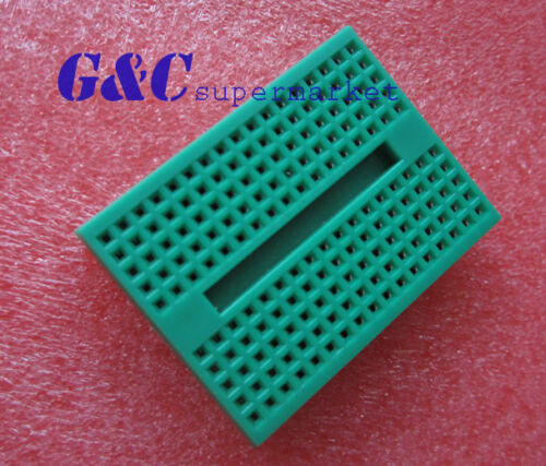 1pcs Green Solderless Prototype Breadboard 170 SYB-170 Tie-points for Arduino