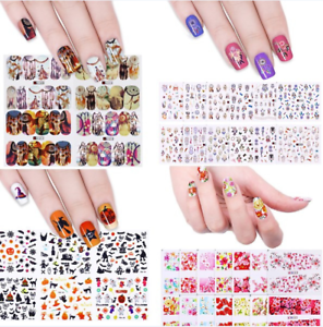 Water Decals Flower Dream Catcher Nail Art Transfer Stickers Nails
