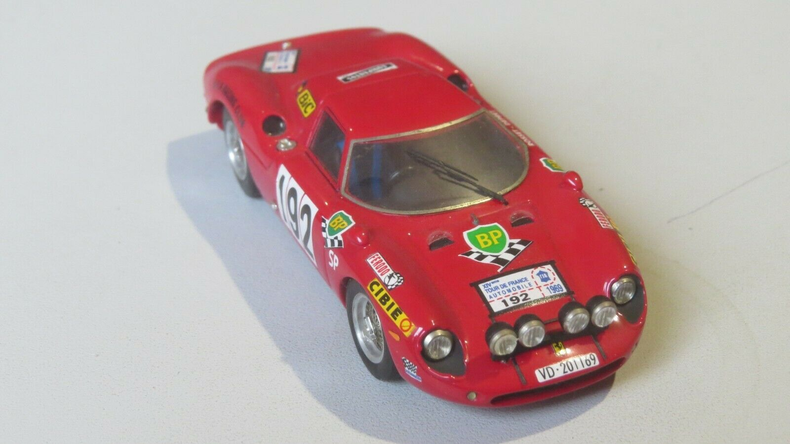 Miniature 1 43 FERRARI 250 GT Tour Auto 69 BBR