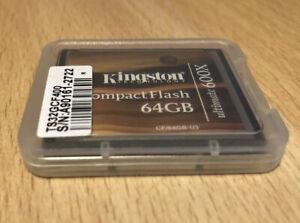 Kingston Fc, Ultra Rare Ultimate 600x Series, 64 Go, Garantie à Vie-afficher Le Titre D'origine