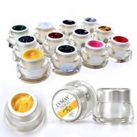 12 Color 3D Nail Art Paint Draw Painting Acrylic Color UV Gel Tip DIY Decoration