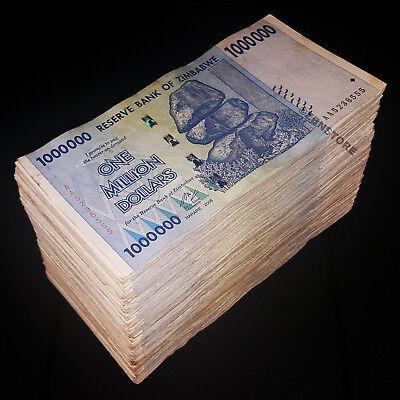 Zimbabwe Dollars X 500 Banknotes Aa Ab