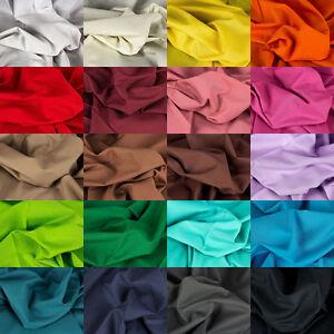 Stoff Färben baumwolle uni 20 farben fahnentuch stoff meterware 50x150