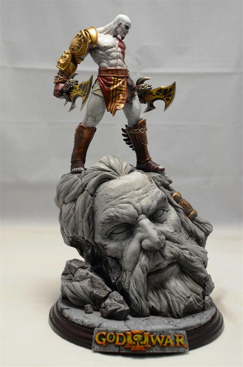 Gud of War III GOW III Kratos hkonsts Staty modellllerlerl 26CM modellllerlerl samling Figur