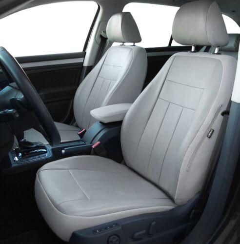 Ecopelle Coprisedili rivestimenti autositzbezü GRIGIO AUDI a6 c6 personalizzati..
