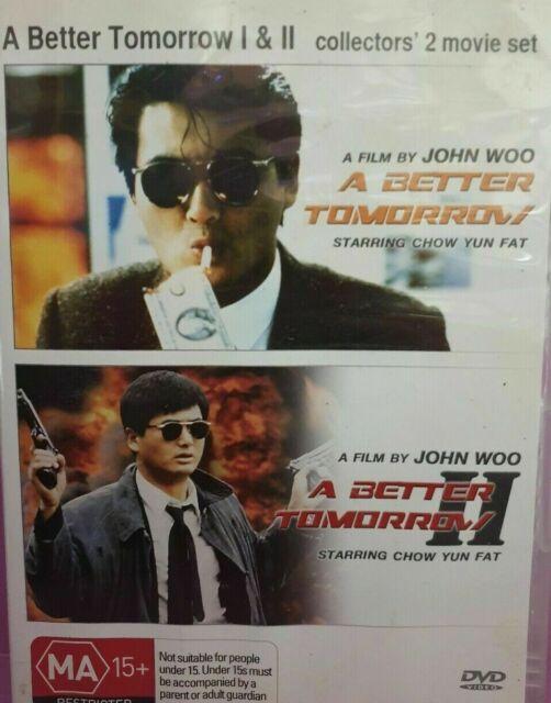 A Better Tomorrow 1 + A Better Tomorrow 2 - DVD John Woo Chow Yun Fat Rare Movie