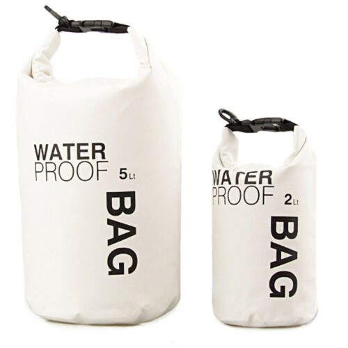 Dry Bag Rollbeutel Wasserdicht Trockensack Tasche 2//5L Seesack Schwimmen Rafting