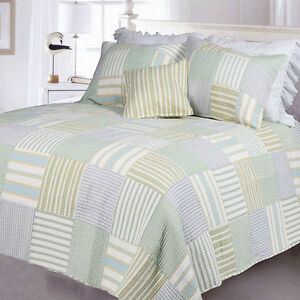 Relax comfort blue light green beach ivory yellow white - Light blue and yellow bedding ...