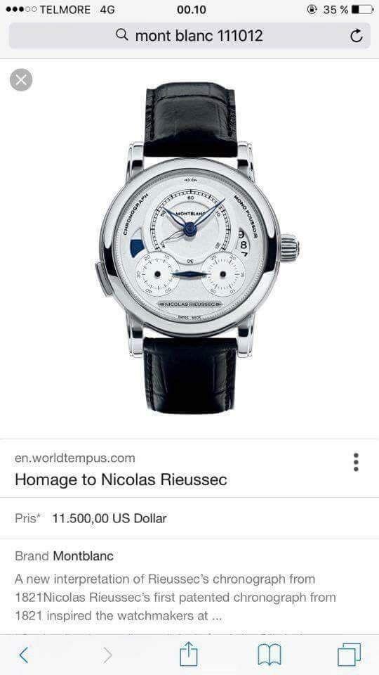 Herreur, Montblanc