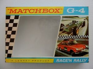 MATCHBOX-LESNEY-PRODUCT-G-4-Race-039-n-Rally-Set-Reproduction-Box
