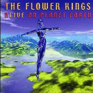 THE-FLOWER-KINGS-039-ALIVE-ON-PLANET-EARTH-039-2-CD-NEW