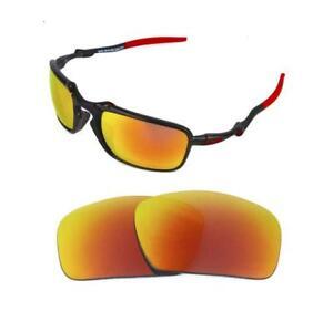 9111bbd475 La imagen se está cargando Nuevas-Polarizadas-Repuesto-Rojo-Intenso-Lentes -para-Oakley-
