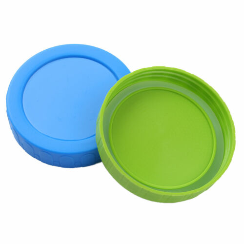 4Pcs 70//86mm Leakproof Caps Lids with Silicone Seal Rings for Mason Jars Bottles