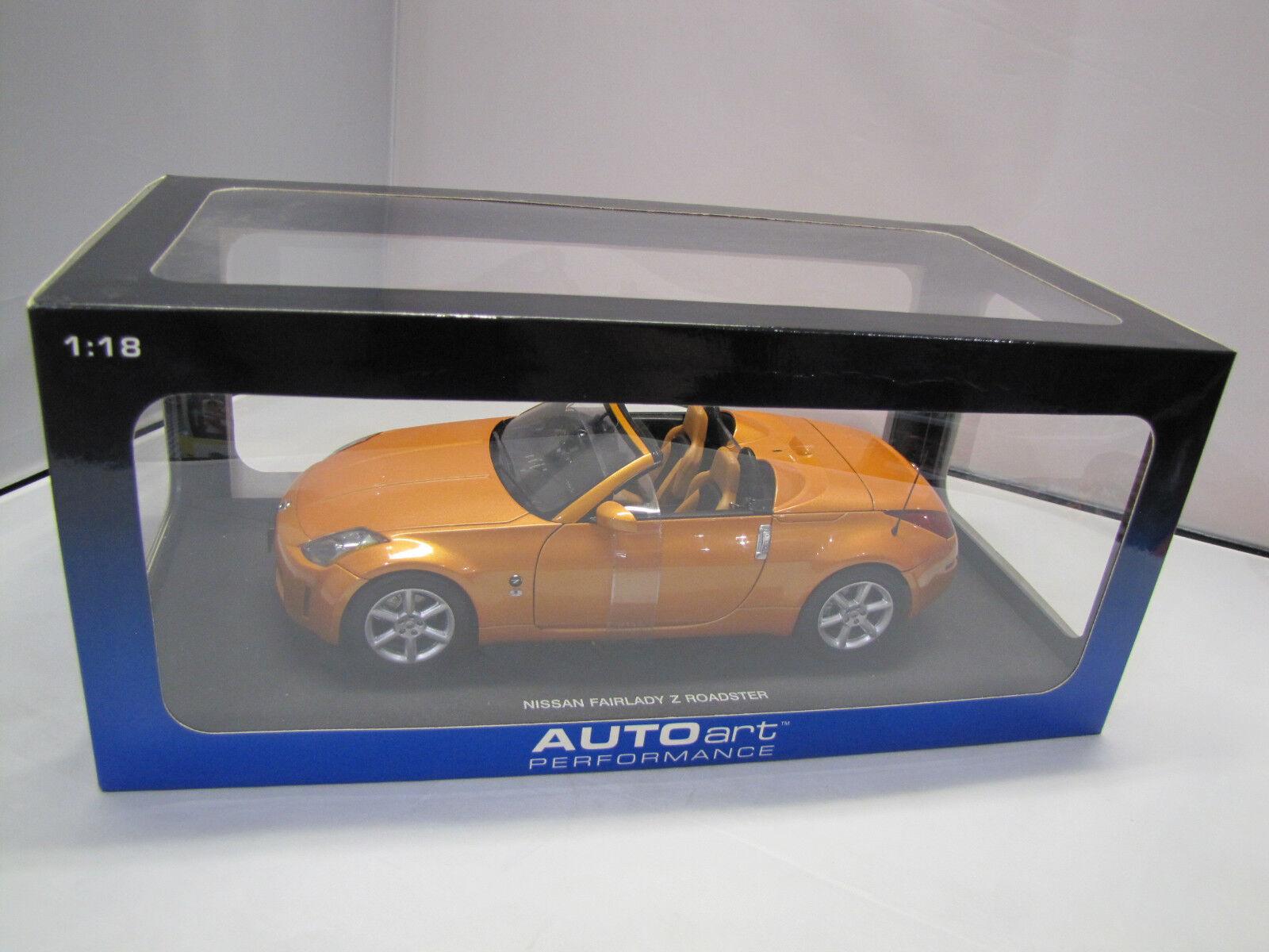 prezzo all'ingrosso 77377 Autoart Autoart Autoart NISSAN Fairlady Z stradaster (sunset arancia) - 1 18  risparmia il 60% di sconto e la spedizione veloce in tutto il mondo