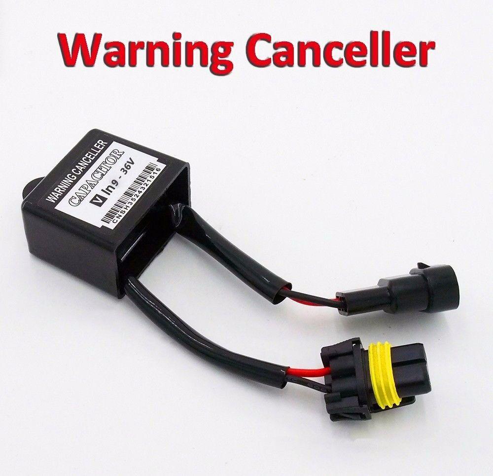 Xenon HID Conversion Kit Error Warning Canceller Anti-Flashing Capacitor