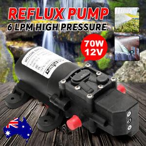 12V-6-Lpm-70W-Self-Priming-Water-Pump-High-Pressure-Caravan-Camping-Boat-0-9MPA