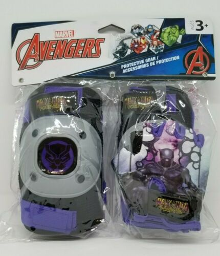 Marvel Avengers protective gear 1 pair of gloves  2 knee pads 2 elbow pads Age 3