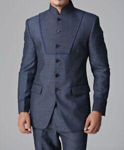 8115f60c38 Men's New Jodhpuri Bandhgala Stylish Suit Wedding Party Wear ...