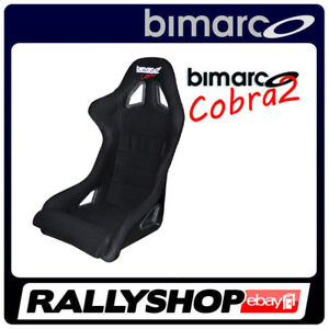 Racing-Seat-BIMARCO-COBRA-III-BLACK-VELOUR-3-inch-Harness-slots-SIDE-MOUNT
