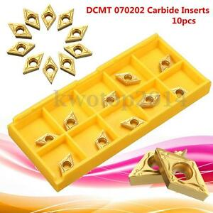 10Pc-box-DCMT-0702-TIN-Carbide-Inserts-7x7x2mm-for-Steel-CNC-Semi-Finishing-Gold