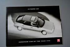 Brochure Citroen XM Hatchback, Petrol & Diesel 1990