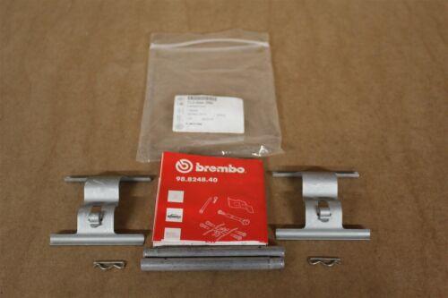Rear brake pad fitting kit 330mm Brembo discs Touareg Q7 7L0698269 Genuine parts